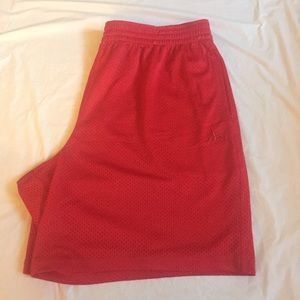 Athletech Red Shorts